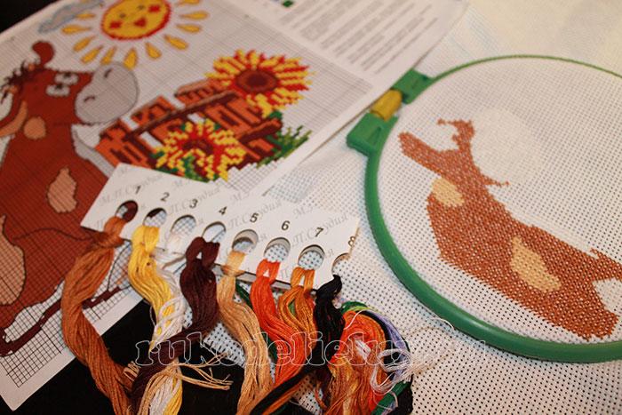 Как производить наборы для вышивания