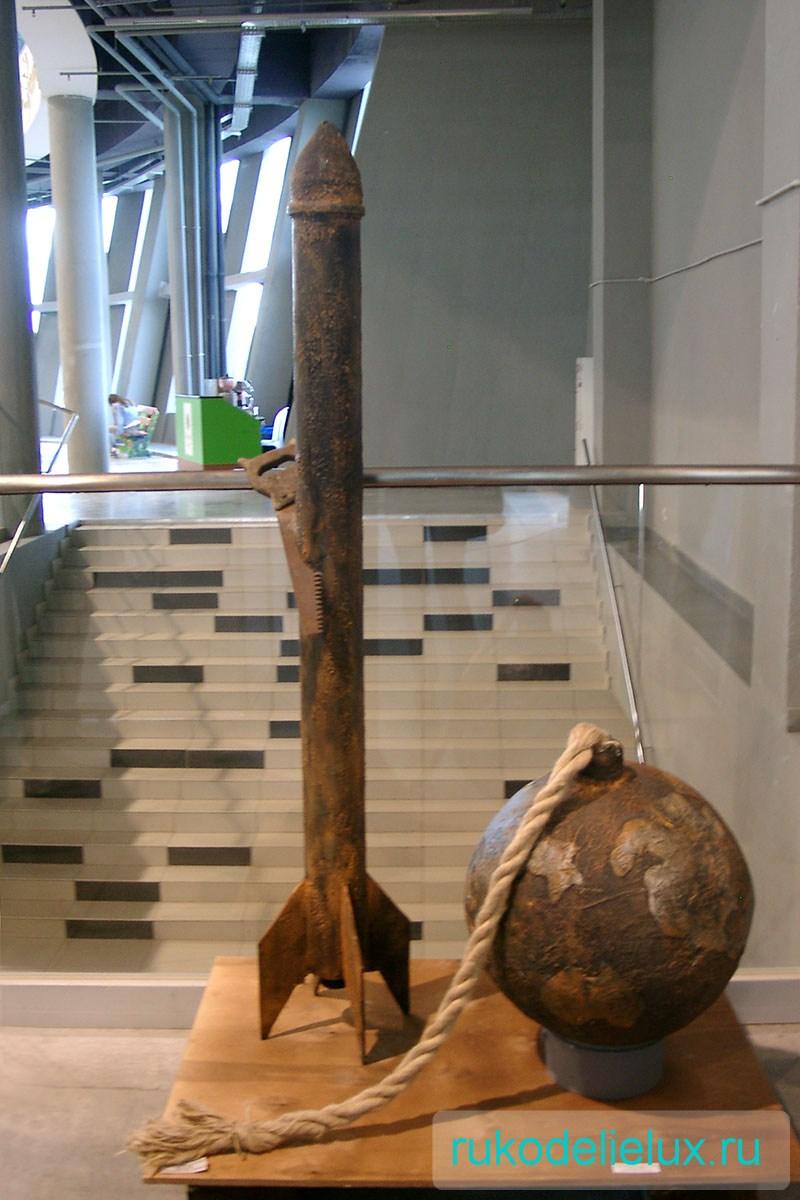 Инсталляция скульптура