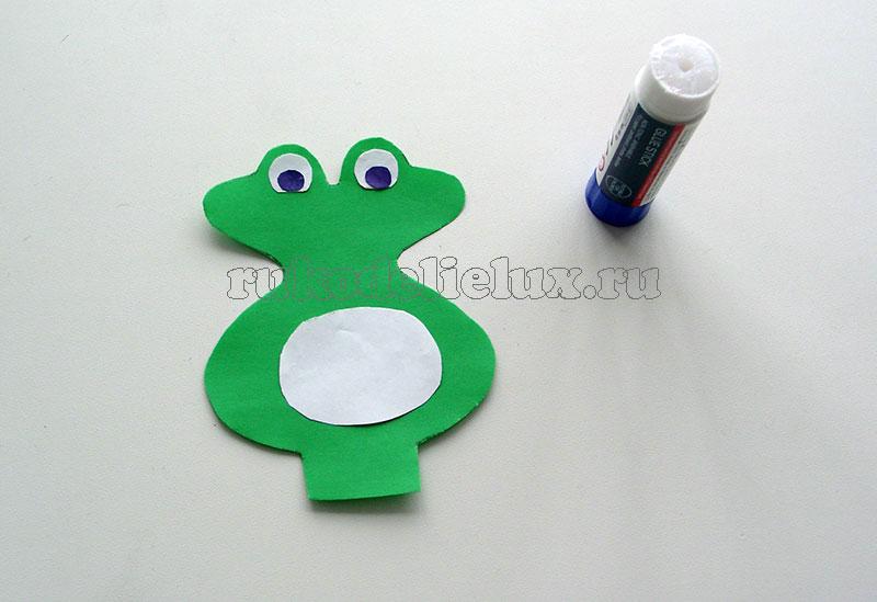 Как сделать объемную лягушку из бумаги своими руками - 3 способ