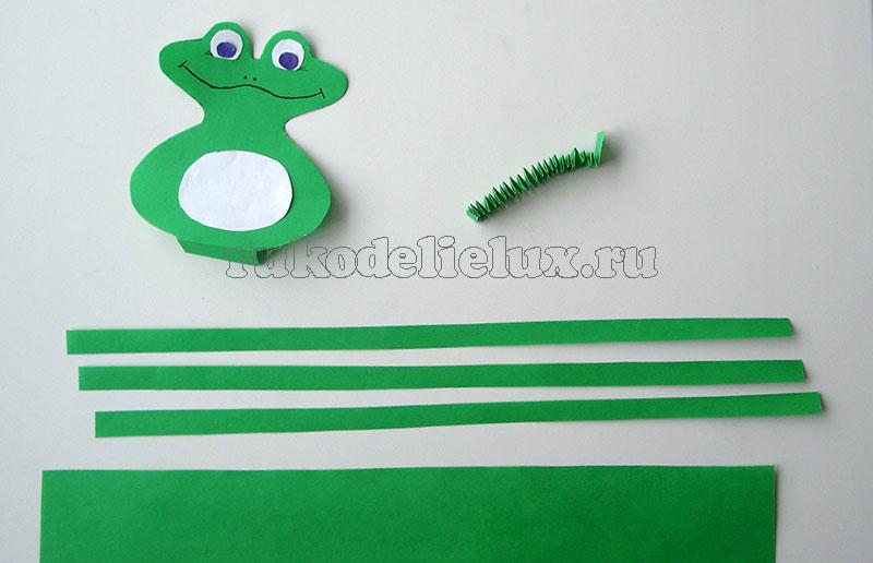 Как сделать объемную лягушку из бумаги своими руками