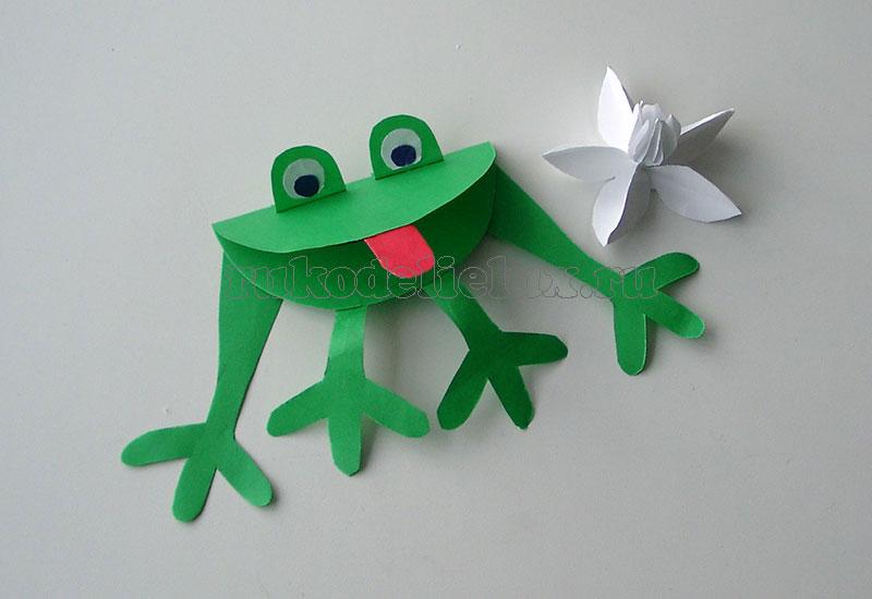 Как сделать лягушку фото