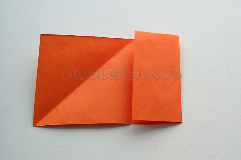 Как сделать прыгающую лягушку из бумаги - 5 способ