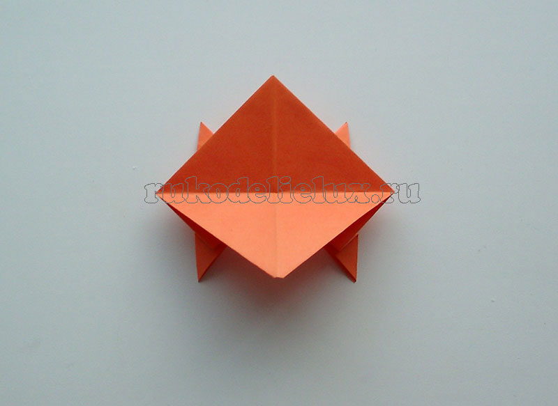 Как сделать лягушку из бумаги пошаговая инструкция с фото