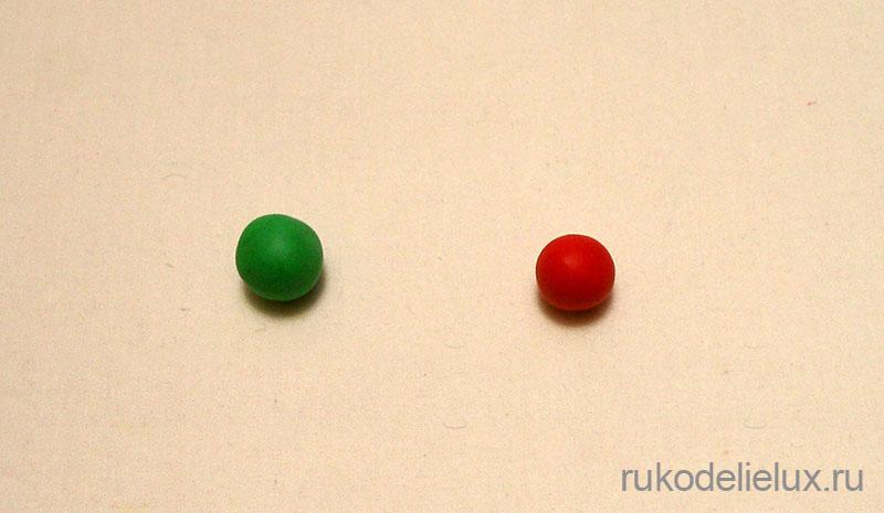 Основные элементы лепки шар