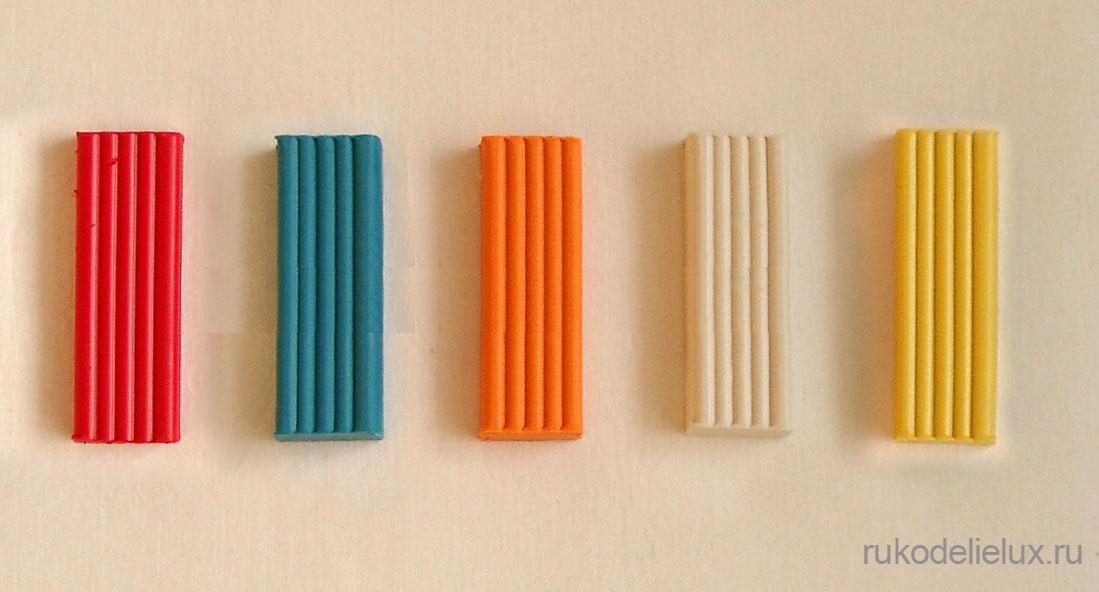 Все цвета пластилина для поделок фото