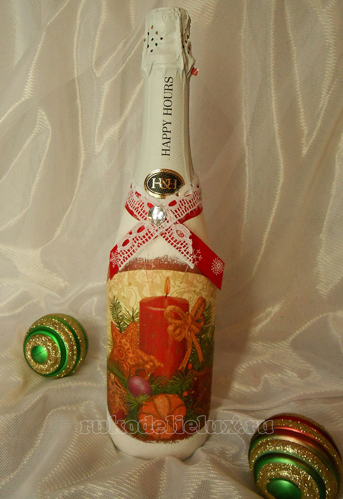 Decoupage New Year's hack