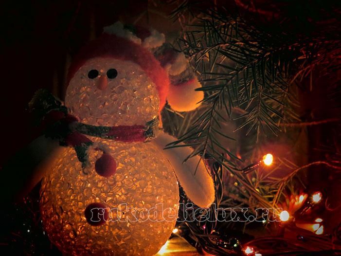 Снеговик своими руками фото