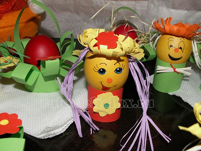 Пасхальные яйца с глазками