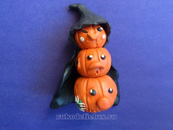 тыква украшение на хэллоуин