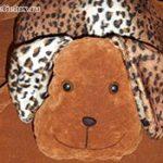 Как сшить подушку собачку своими руками