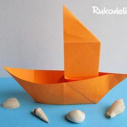 Как сделать кораблик из бумаги — 10 вариантов