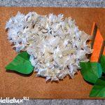 Как сделать открытку с веточкой сирени к 9 Мая