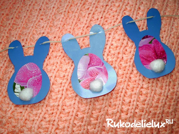 Easter garlands with your own hands