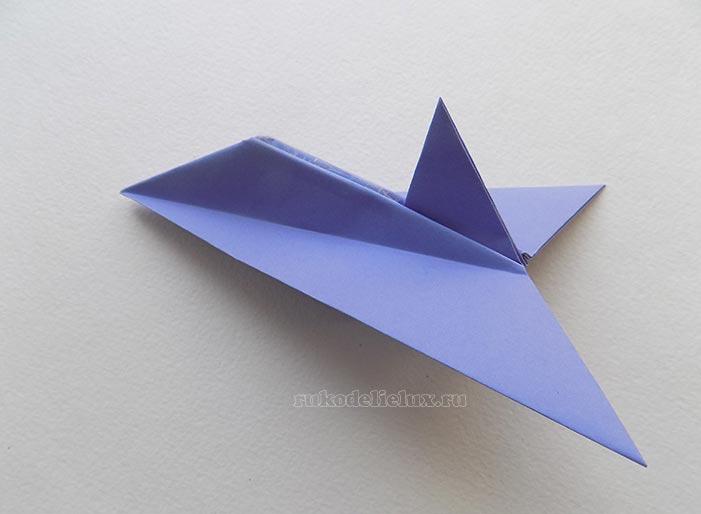 Как сделать бумажного самолёта фото 844