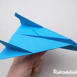 Как сделать самолет из бумаги — 5 вариантов