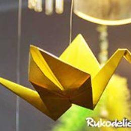 Журавль оригами — 5 вариантов как сделать