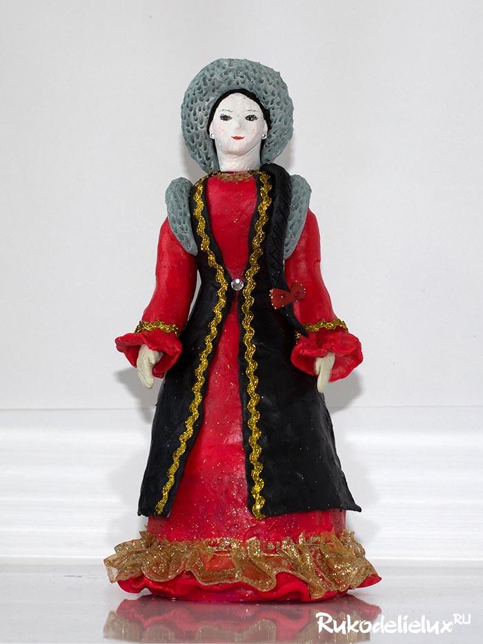 Куклы в башкирском костюме
