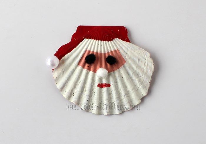 Дед Мороз ракушка