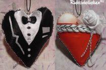 Поделка на День влюбленных «Сладкая парочка»