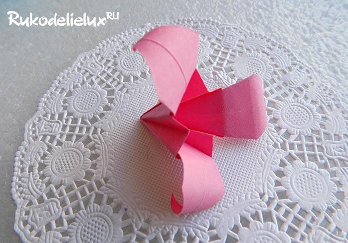 цветы оригами как сделать
