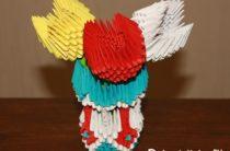Модульное оригами — как сделать пошагово