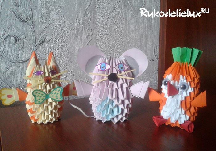 Особенности модульного оригами