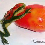 Как сделать поделки из овощей и фруктов