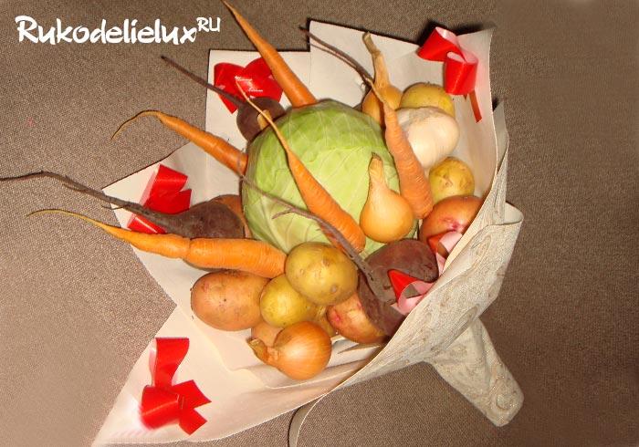 Букет из овощей Все для борща