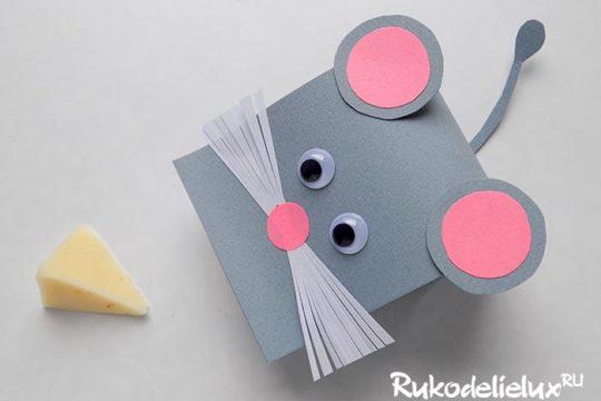 Мышки из бумаги — символ 2020 года своими руками