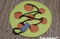 Развивающая игрушка мышка