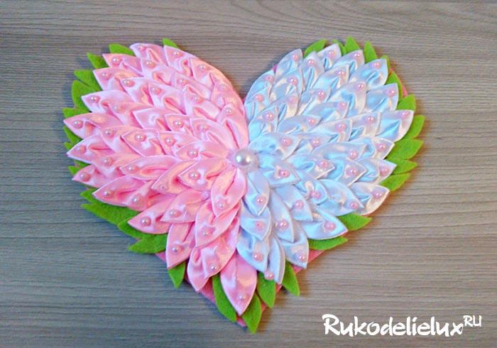 Как сделать сердечки