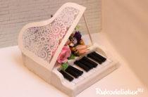 Рояль из конфет своими руками