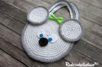 Детская сумочка мышка своими руками