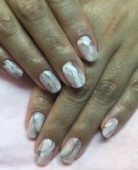 Абстракция дизайн ногтей