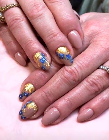 Фольга дизайн ногтей фото