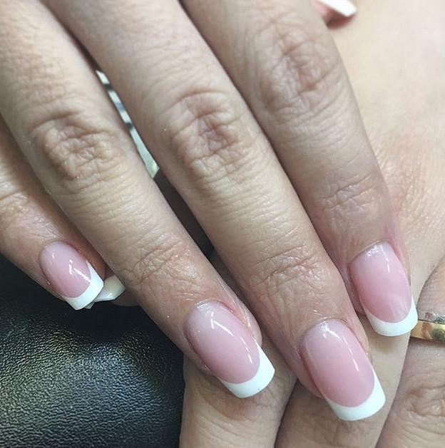 Дизайн френч ногтей