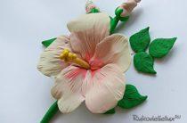 Как сделать цветок из пластилина