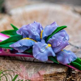 Как сделать цветы из холодного фарфора