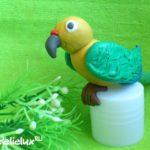 Как слепить попугая из пластилина