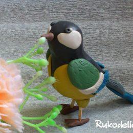 Как сделать птицу из пластилина