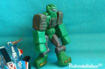 Робот из пластилина для детей поэтапно