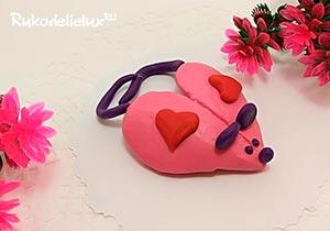 Мышка-сердечко