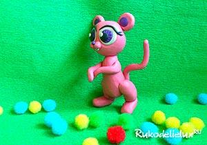 Розовая мышь