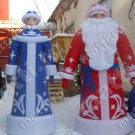 Надувной Дед Мороз на улицу
