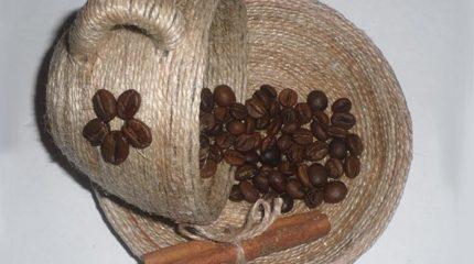 Как сделать парящую чашку с кофе