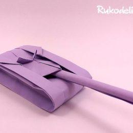 Как сделать танк оригами