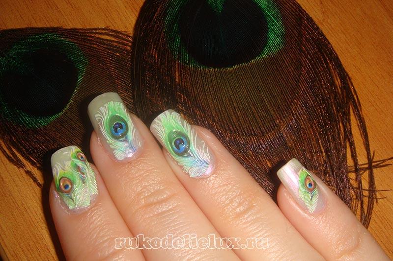 Дизайн ногтей с 3D-слайдерами