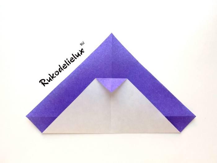 клюв цветного пингвина из бумаги