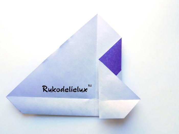 работа с цветной бумагой мастер-класс пингвин оригами