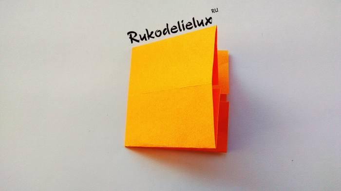 три слоя формы бумаги